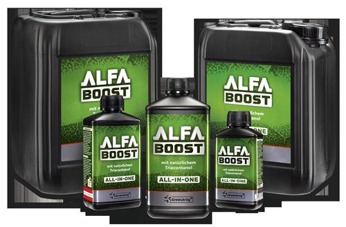 Alfa Boost Produktfamilie